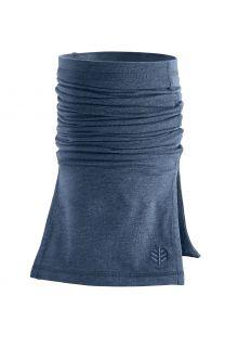 Coolibar---UV-schützender-Nackenschutz-für-Erwachsene---Key-West---Denimblau