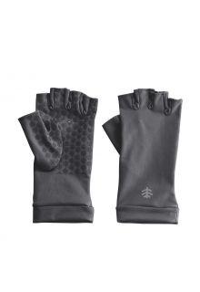 Coolibar---UV-schützende-fingerlose-Handschuhe-für-Erwachsene---Ouray---Anthrazit