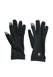 Coolibar---UV-schützende-Handschuhe-für-Erwachsene---Gannett---Schwarz
