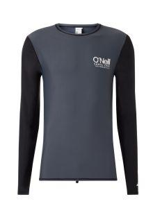 O'Neill---UV-Shirt-für-Herren---Longsleeve---Cali---Schwarzgrau