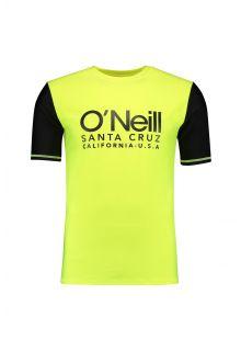 O'Neill---Kurzärmliges-UV-Shirt-für-Herren---Cali---Gelb