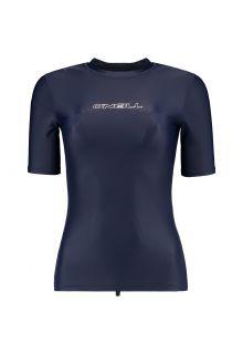 O'Neill---Kurzärmliges-UV-Shirt-für-Damen---Essential---Blau