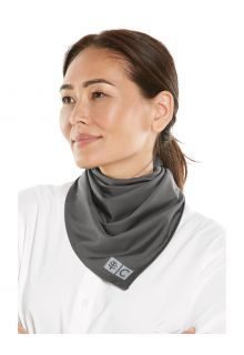 Coolibar---UV-schützendes-Halstuch-für-Erwachsene---Abacos-Aqua---Rauchgrau