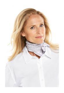 Coolibar---UV-schützendes-Halstuch-für-Erwachsene---Mackinac---Grau/Weiß