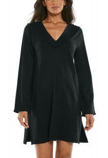 Coolibar---UV-Schutz-Strandkleid-für-Damen---Samoa-Cover-Up---Schwarz