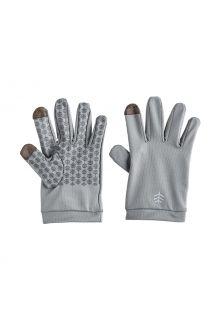 Coolibar---UV-schützende-Handschuhe-für-Kinder---Y-Gannet---Kieselgrau