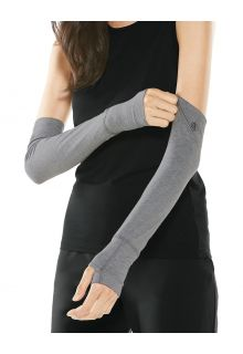 Coolibar---UV-schützende-Ärmel-für-Damen---LumaLeo---Grau