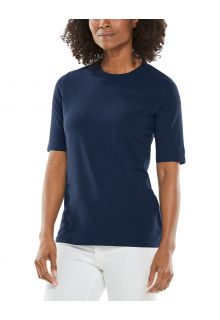 Coolibar---UV-Shirt-für-Damen---Morada-Everyday---Navy
