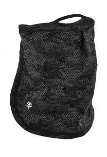 Coolibar---UV-schützende-Gesichtsmaske-für-Kinder---Crestone---Anthrazit