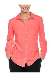 Coolibar---UV-Schutz-Bluse-für-Damen---Hepburn---Shell-Pink