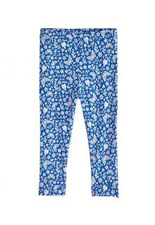 Coolibar---UV-Leggings-für-Kleinkinder---Monterey---Blau-geblümt