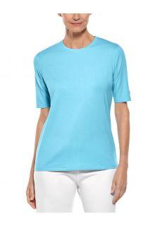 Coolibar---UV-Shirt-für-Damen---Morada-Everyday---Eisblau