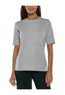 Coolibar---UV-Shirt-für-Damen---Morada-Everyday---Grau
