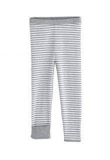 Coolibar---UV-Leggings-für-Babys---LumaLeo---Grau/Weiß