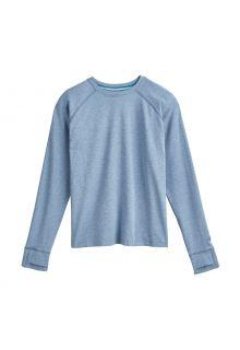 Coolibar---UV-Shirt-für-Kinder---Langärmlig---LumaLeo---Hellblau