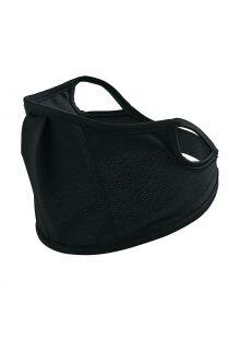 Coolibar---UV-schützende-Gesichtsmaske-für-Kinder---Blackburn---Schwarz