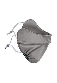 Coolibar---UV-schützende-Halbmaske-für-Erwachsene---Zenith---Grau
