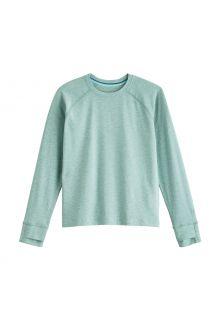 Coolibar---UV-Shirt-für-Kinder---Langärmlig---LumaLeo---Salbeigrün