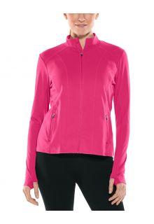Coolibar---UV-Schwimmjacke-für-Damen---Malawi---Jazzy-Pink
