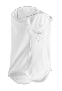 Coolibar---UV-schützende-Sonnengamasche-für-Erwachsene---Abacos---Weiß