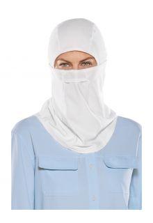 Coolibar---UV-schützende-Angelmaske-für-Erwachsene---Abacos---Weiß