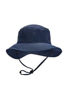 Coolibar---UV-Bucket-Hut-für-Kinder---Caspian---Navy