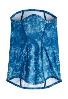 Coolibar---UV-schützende-Sonnengamasche-für-Erwachsene---Abacos---Blau-Wasser