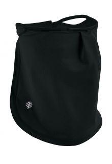 Coolibar---UV-schützende-Gesichtsmaske-für-Kinder---Crestone---Schwarz