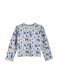 Coolibar---UV-Shirt-für-Babys---Langärmlig---LumaLeo---Grau
