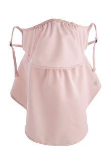 Coolibar---UV-schützende-Gesichtsmaske-für-Erwachsene---Vermilion---Petal-Pink