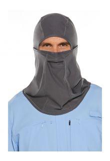 Coolibar---UV-schützende-Angelmaske-für-Erwachsene---Abacos---Rauchgrau