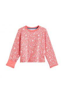 Coolibar---UV-Shirt-für-Babys---Langärmlig---LumaLeo---Dschungel-Floral