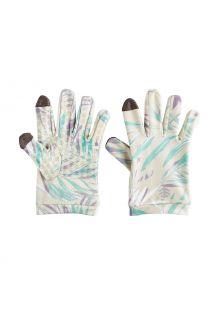 Coolibar---UV-schützende-Handschuhe-für-Kinder---Y-Gannet---Taupe-Palms