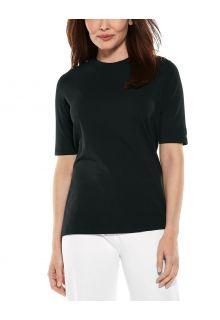 Coolibar---UV-Shirt-für-Damen---Morada-Everyday---Schwarz