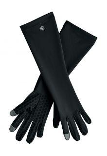 Coolibar---UV-schützende-Handschuhe-mit-Ärmel-für-Erwachsene---Bona---Schwarz