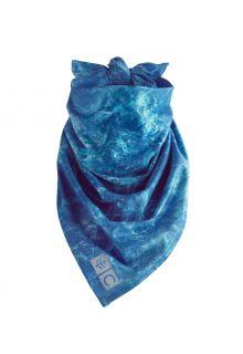 Coolibar---UV-schützendes-Halstuch-für-Erwachsene---Abacos-Aqua---Blau-Wasser