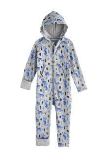 Coolibar---UV-Strampler-mit-Kapuze-für-Babys---LumaLeo-Bodysuit---Grau-Leopard