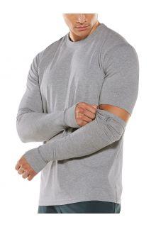 Coolibar---UV-schützende-Ärmel-für-Herren---LumaLeo---Grau