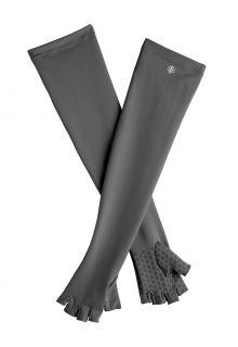 Coolibar---UV-fingerlose-Handschuhe-mit-langem-Arm-für-Erwachsene---Perpetua---Anthrazit