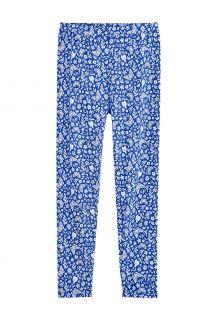 Coolibar---UV-Leggings-für-Kinder---Monterey---True-Blue