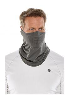 Coolibar---UV-schützende-Sonnengamasche-für-Erwachsene---Abacos---Rauchgrau