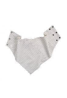 Coolibar---UV-beständiges-Hals-Schal-für-Erwachsene---Lija---Weiß-Geo