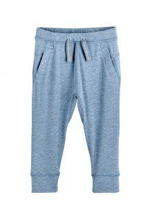 Coolibar---Lässige-UV-Jogginghose-für-Kleinkinder---Conico---Hellblau