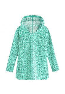 Coolibar---UV-Schwimmkleid-für-Mädchen---Seacoast-Cover-Up---Meeresminze