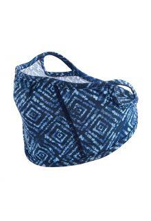 Coolibar---UV-schützende-Gesichtsmaske-für-Kinder---Blackburn---Blau-Diamant