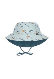 Lässig---Wendbarer-UV-Bucket-Hut-für-Babys---Boot---Minze