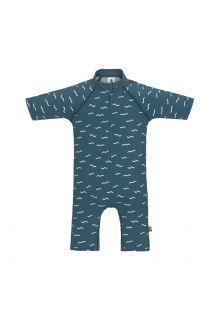 Lässig---UV-Schwimmanzug-für-Babys---Sunsuit-Waves---Blau