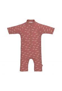Lässig---UV-Schwimmanzug-für-Babys---Sunsuit-Waves---Rosewood