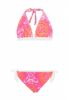 Snapper-Rock---Bikini---Neon-Rosa