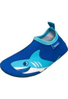Playshoes---UV-Badeschuhe-für-Kinder---Hai---Blau
